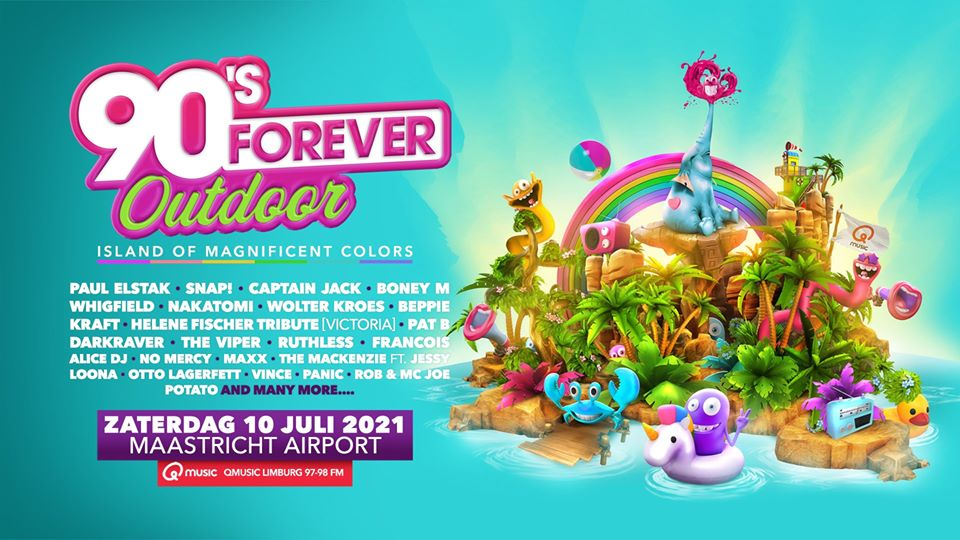 90's Forever outdoor 2021