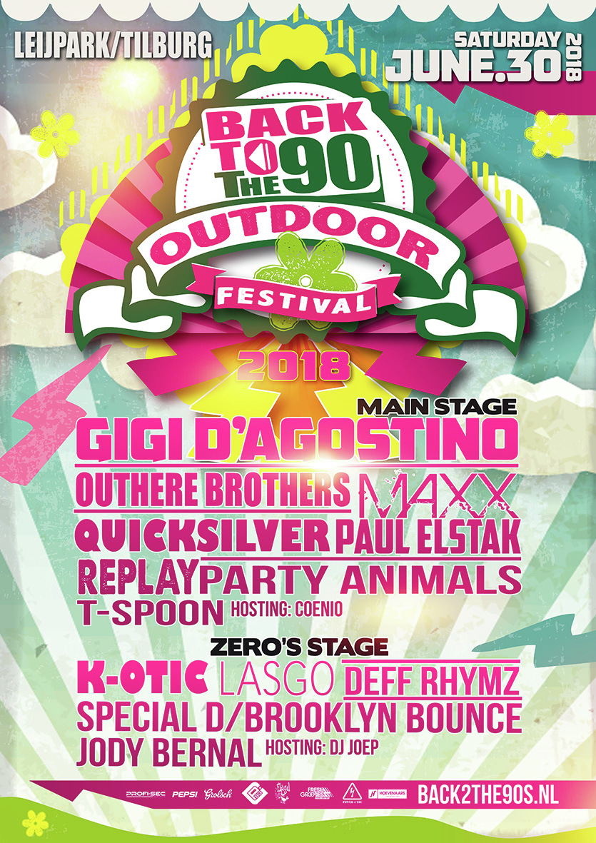 Back 2 the 90 outdoor 2018