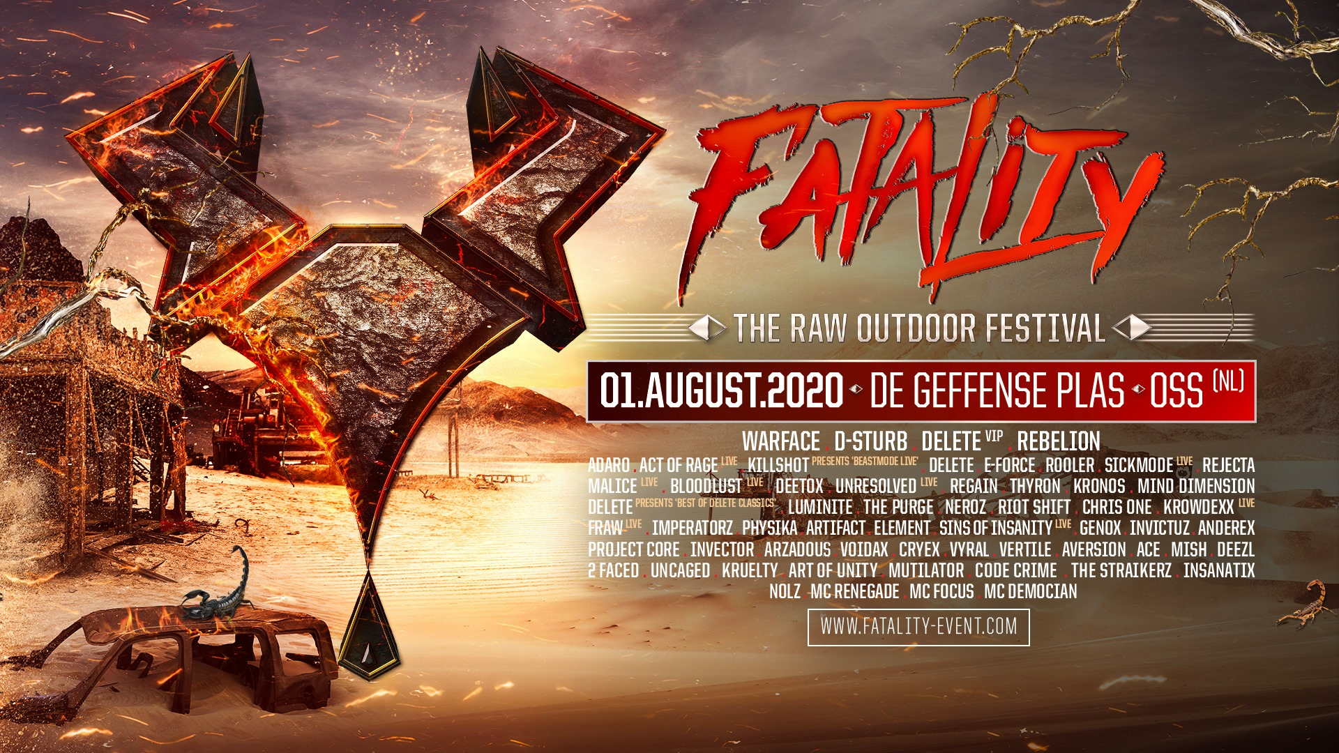 Fatality - The Raw Outdoor Festival 2020