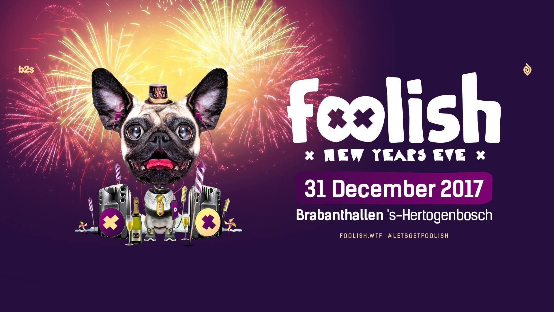 Foolish new years eve 2017