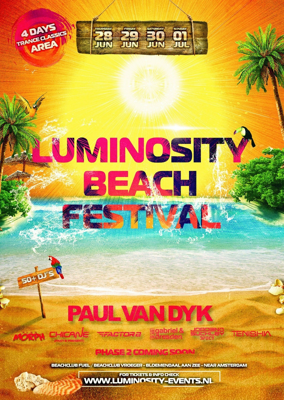 Luminosity Beach 2018