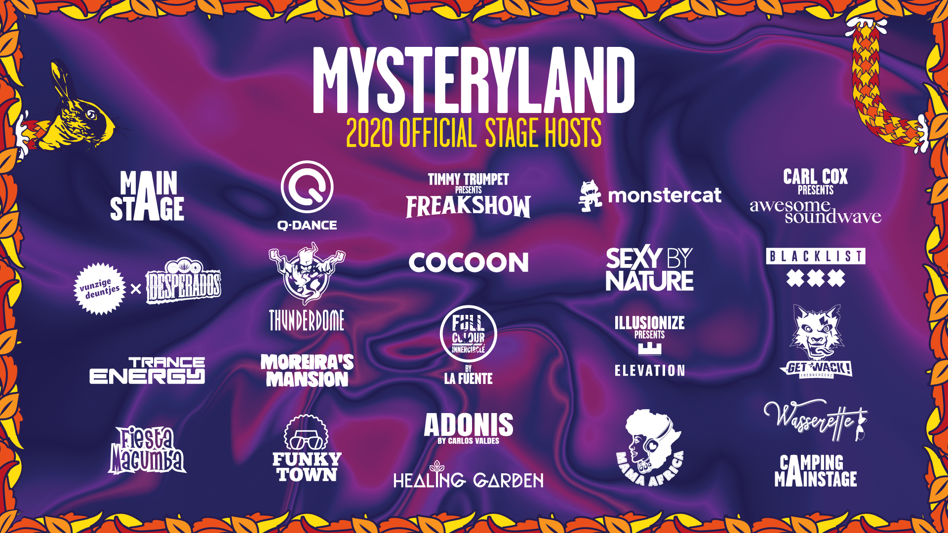 Mysteryland - Weekend 2020