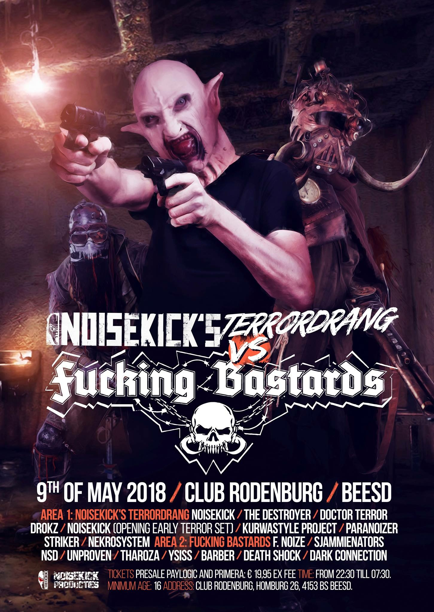 Noisekick terrordrang vs fucking bastard 2018