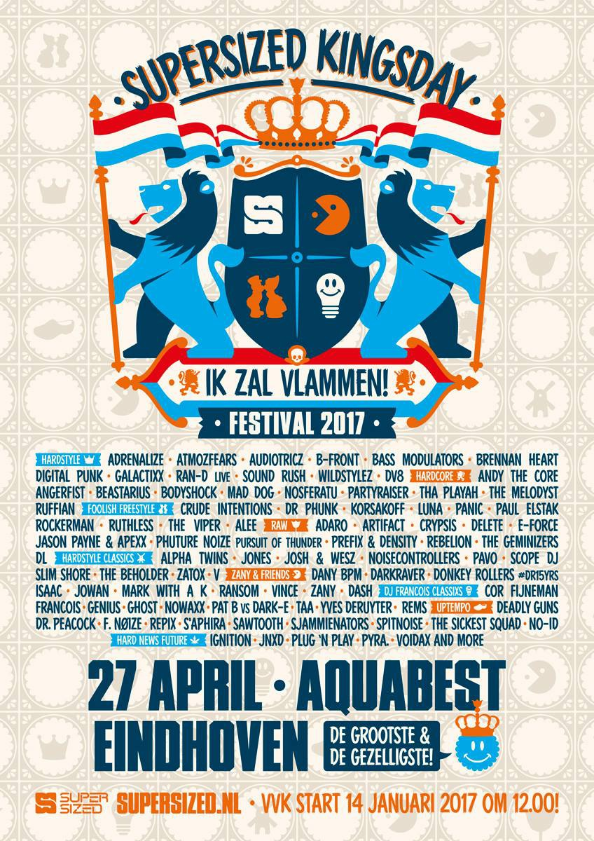 Supersized Kingsday 2017